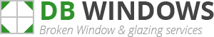 Daventry Broken Window Logo